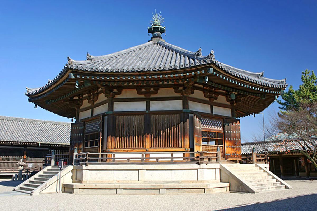 Yumedono in Hōryū-Ji,