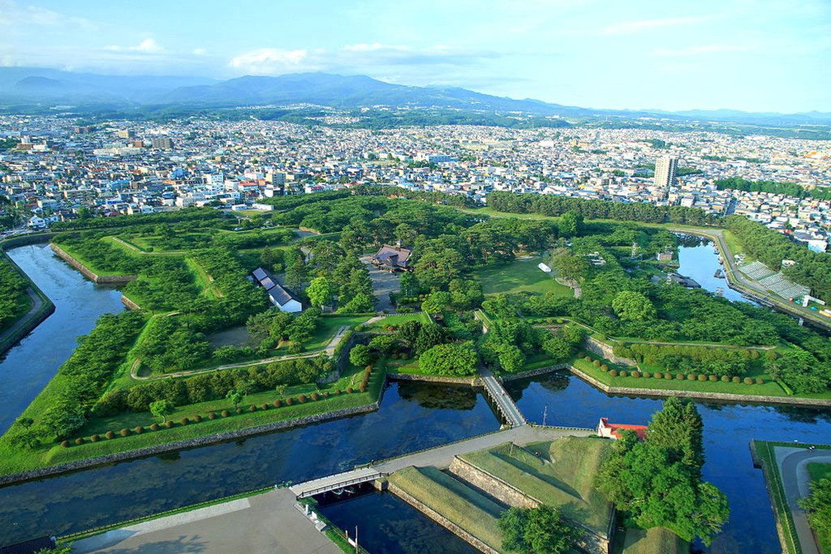 Goryōkaku Fortress, Hakodate.