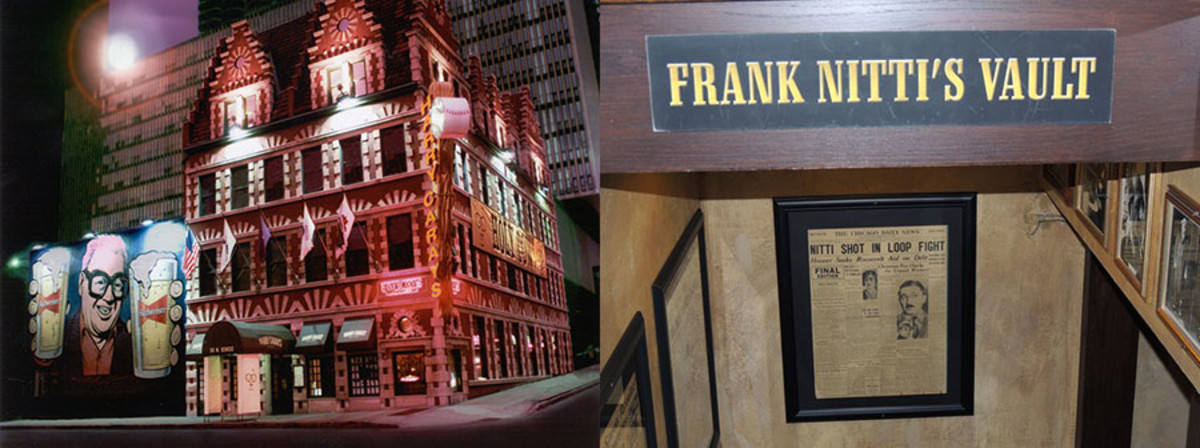 Visit the secret vault that once belonged to mobster Frank Nitti in the basement of Harry Caray's Steak House at the Chicago Architecture Center's Open House