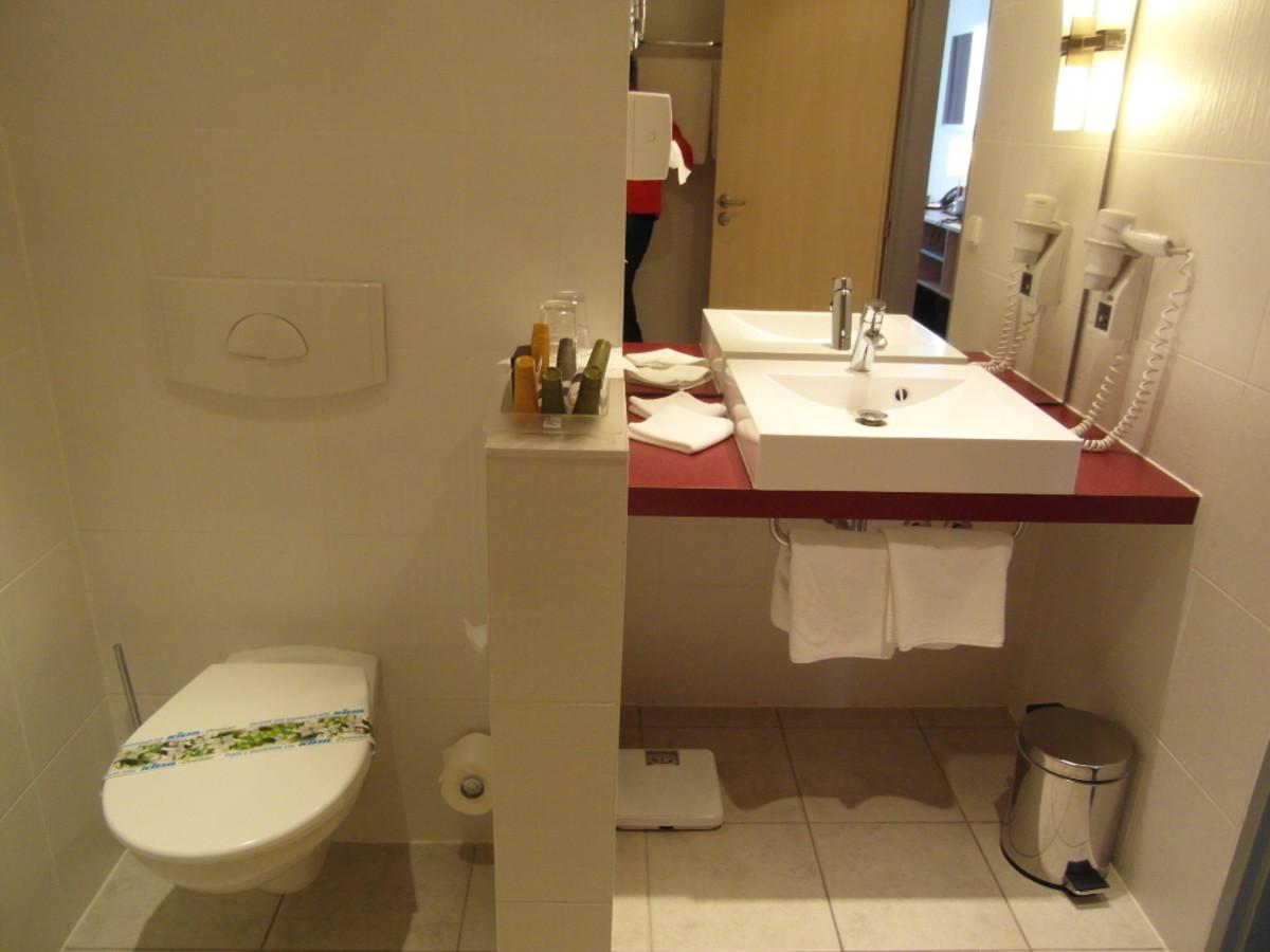 Toilet facilities.