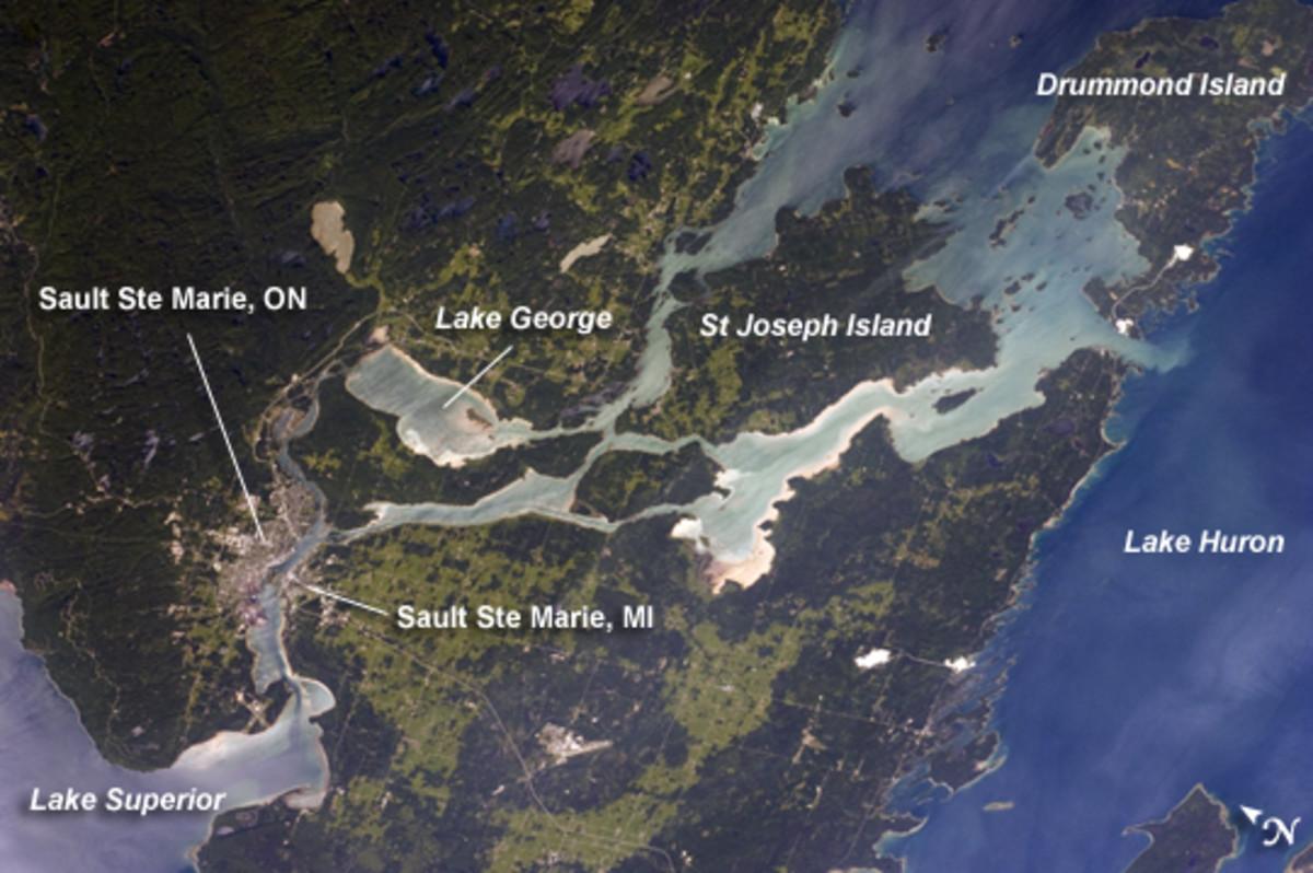 Area Near Drummond Island