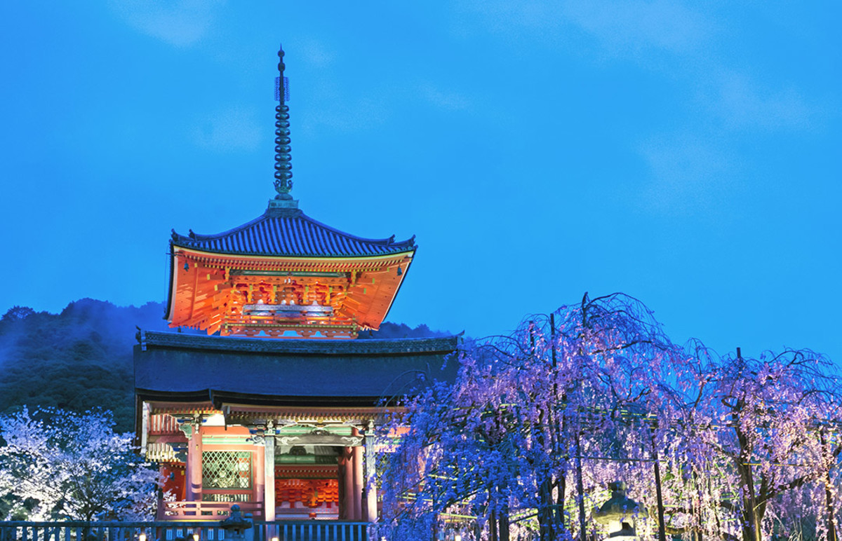 "Trivia: Many English names of Japanese attractions erroneously include the facility title. Kiyomizudera Temple actually translate back to ""Kiyomizu Temple Temple."""