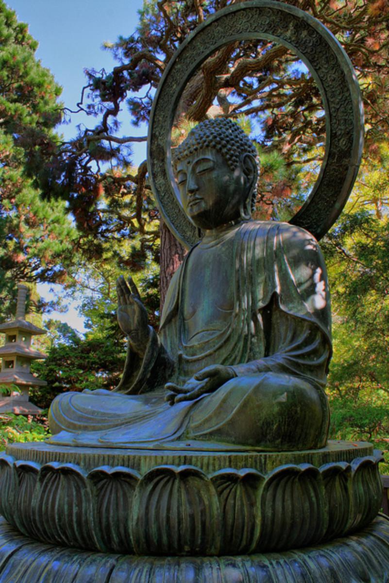 "The Peace Buddha says, ""Wait a moment!?"""