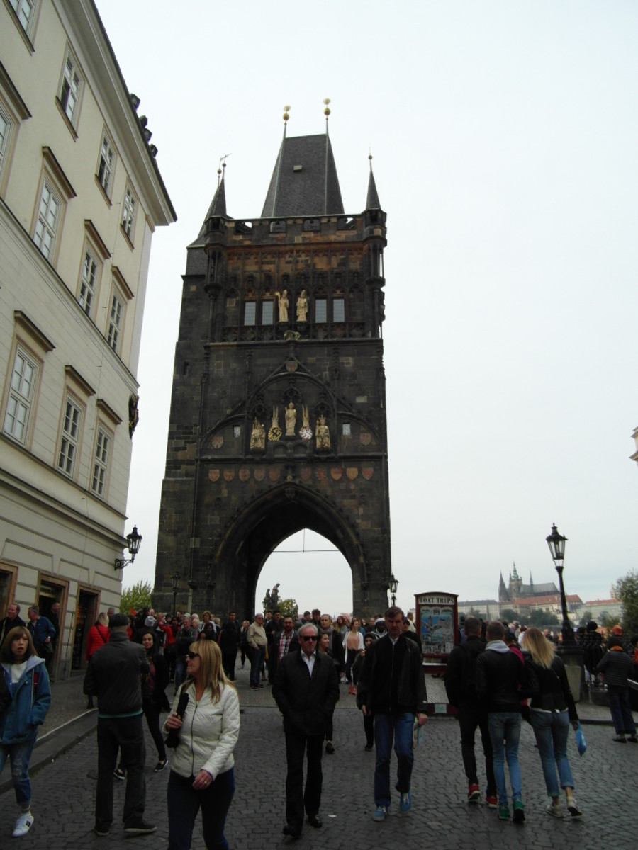 Old Town Bridge Tower.