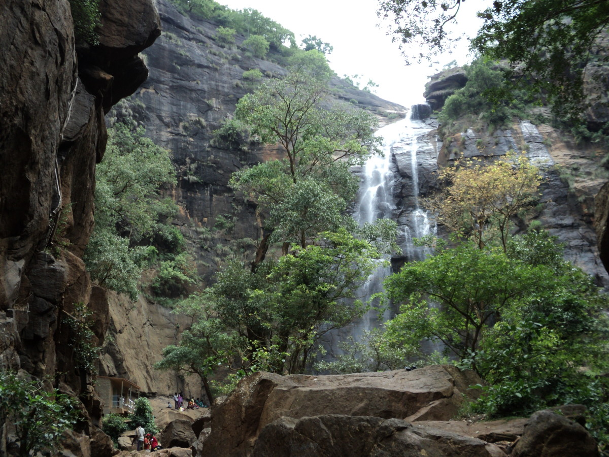 Agaya Gangai Waterfalls, Kolli Hills