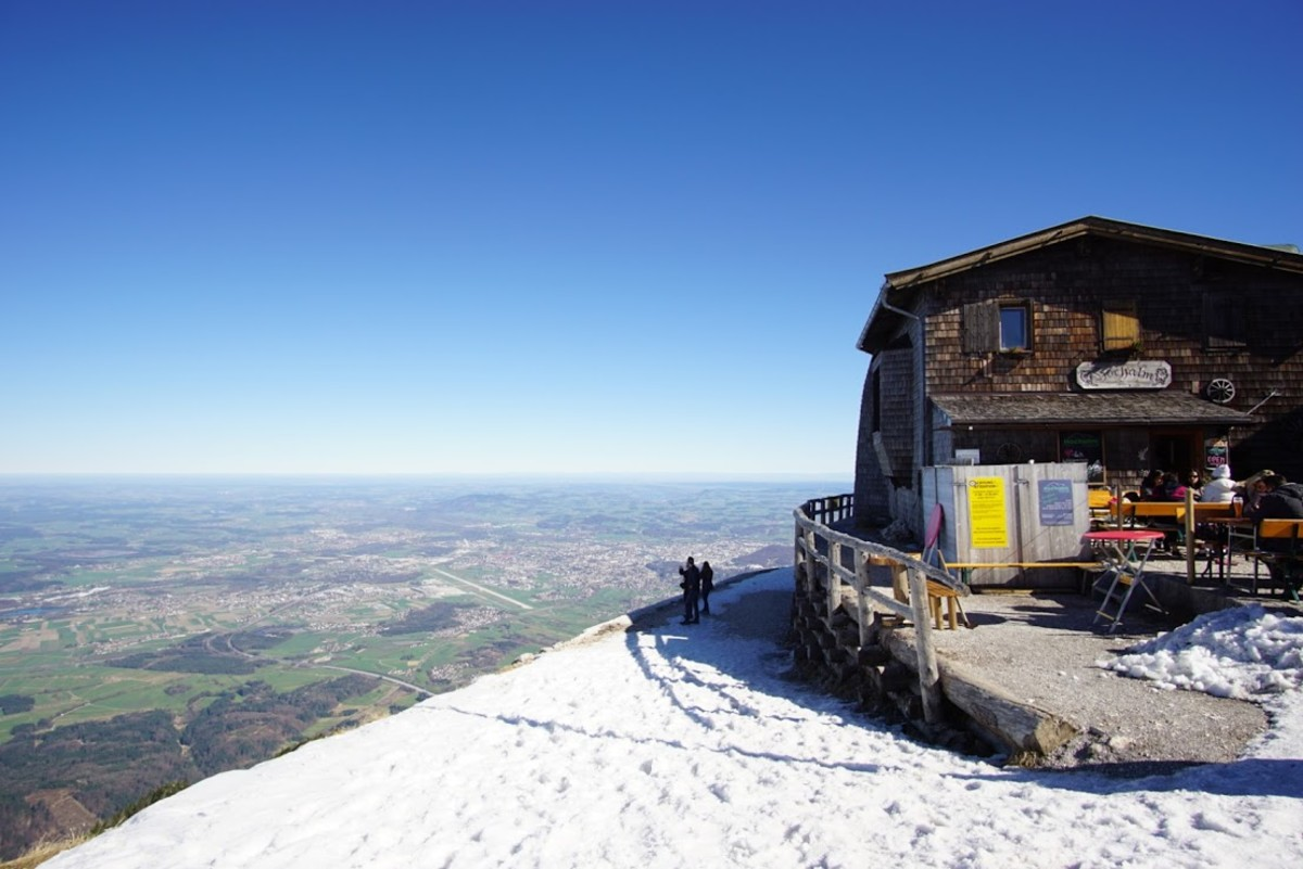 View from the Untersberg Cable Car Station.