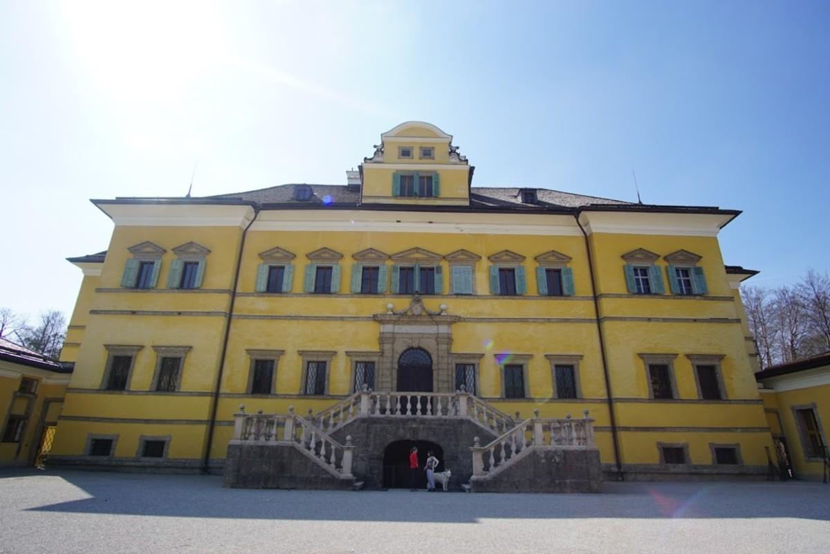 The Hellbrunn Palace.