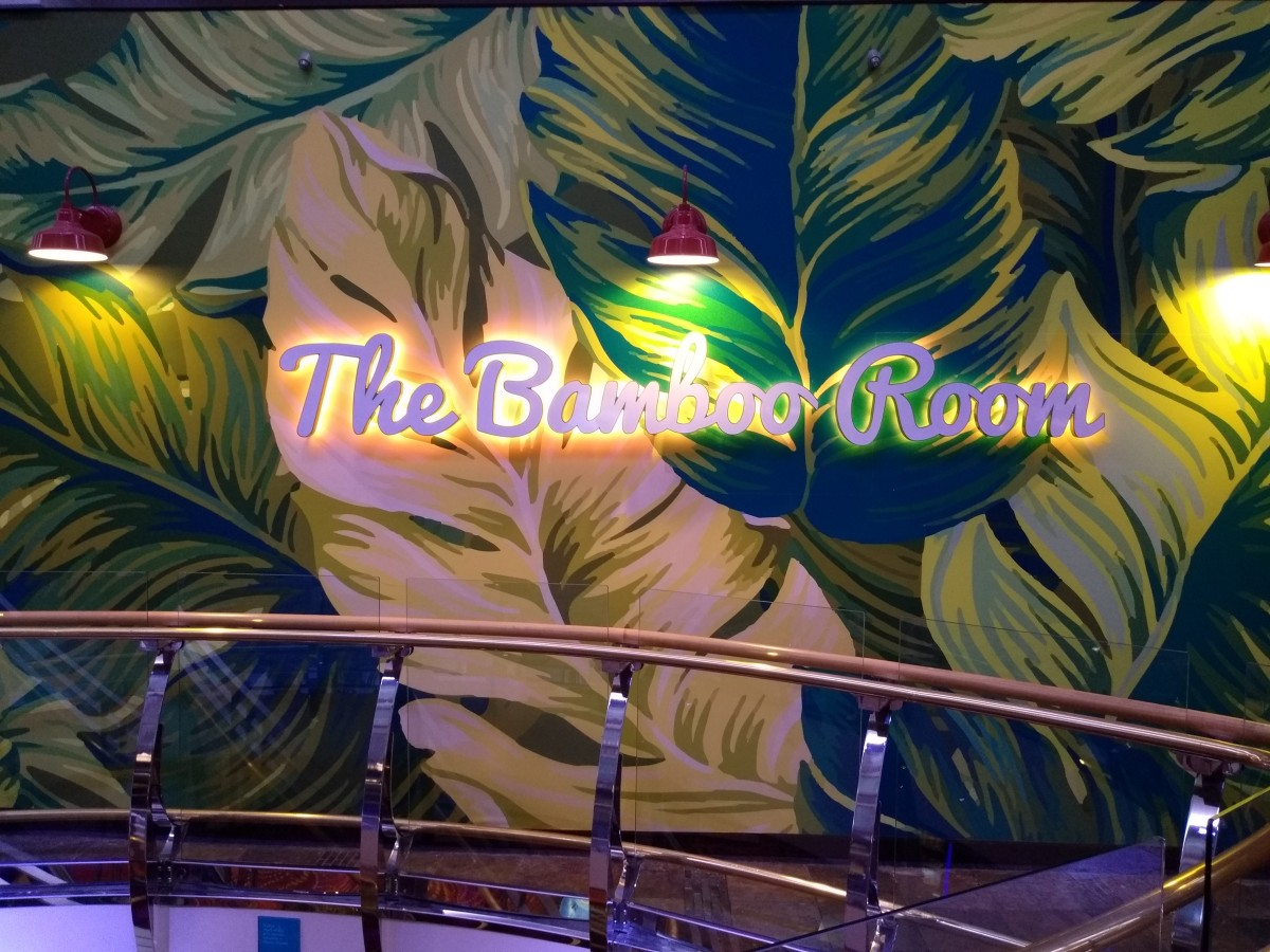 The Bamboo Room on Deck 5 in the Promenade Royal on Mariner of the Seas