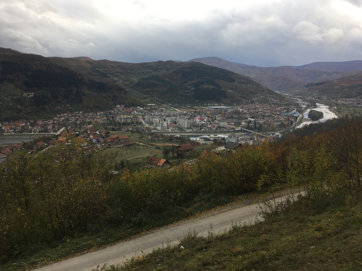 A view over Gorazde