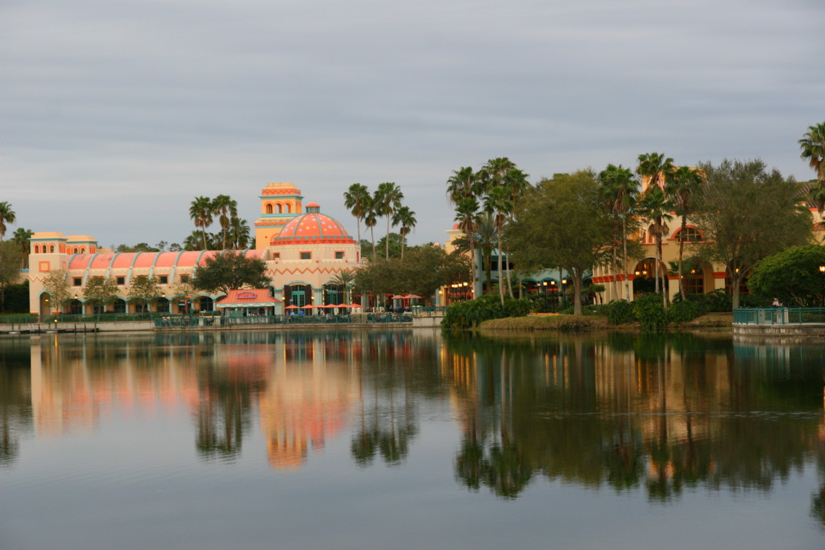 Disney World can be more expensive than Disneyland due to a longer vacation time and fast pass benefits that come with staying at a more expensive, on-property hotel like the Coronado Springs, pictured above.