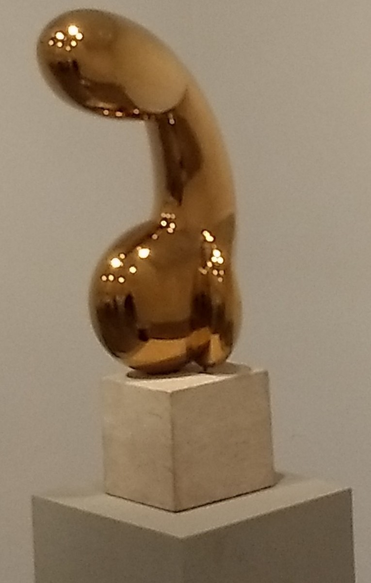 """Princess X"" by Constantin Brancusi"