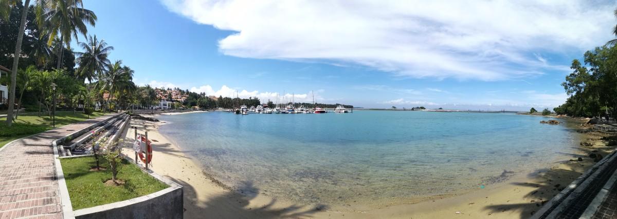View from Nongsa Point Marina and Resort
