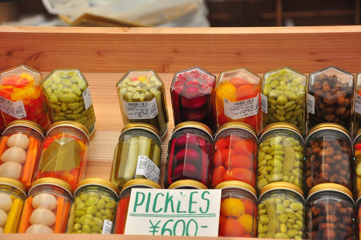 Pickled veggies are one way to get the health benefits of vinegar