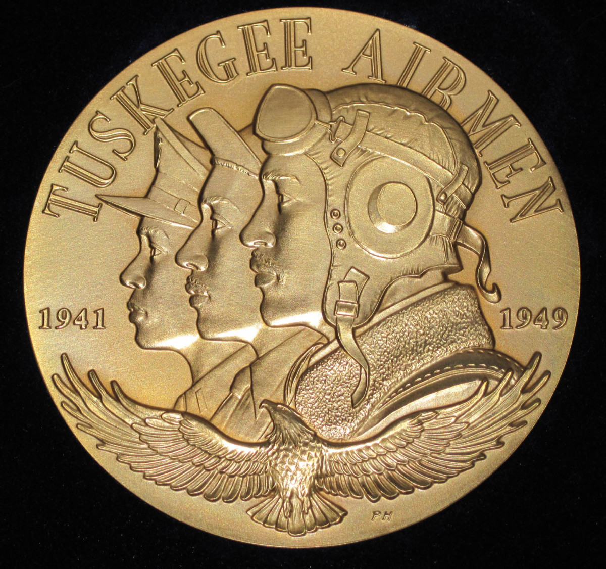 Congressional Gold Medal awarded in 2007 to the airmen or their widows.