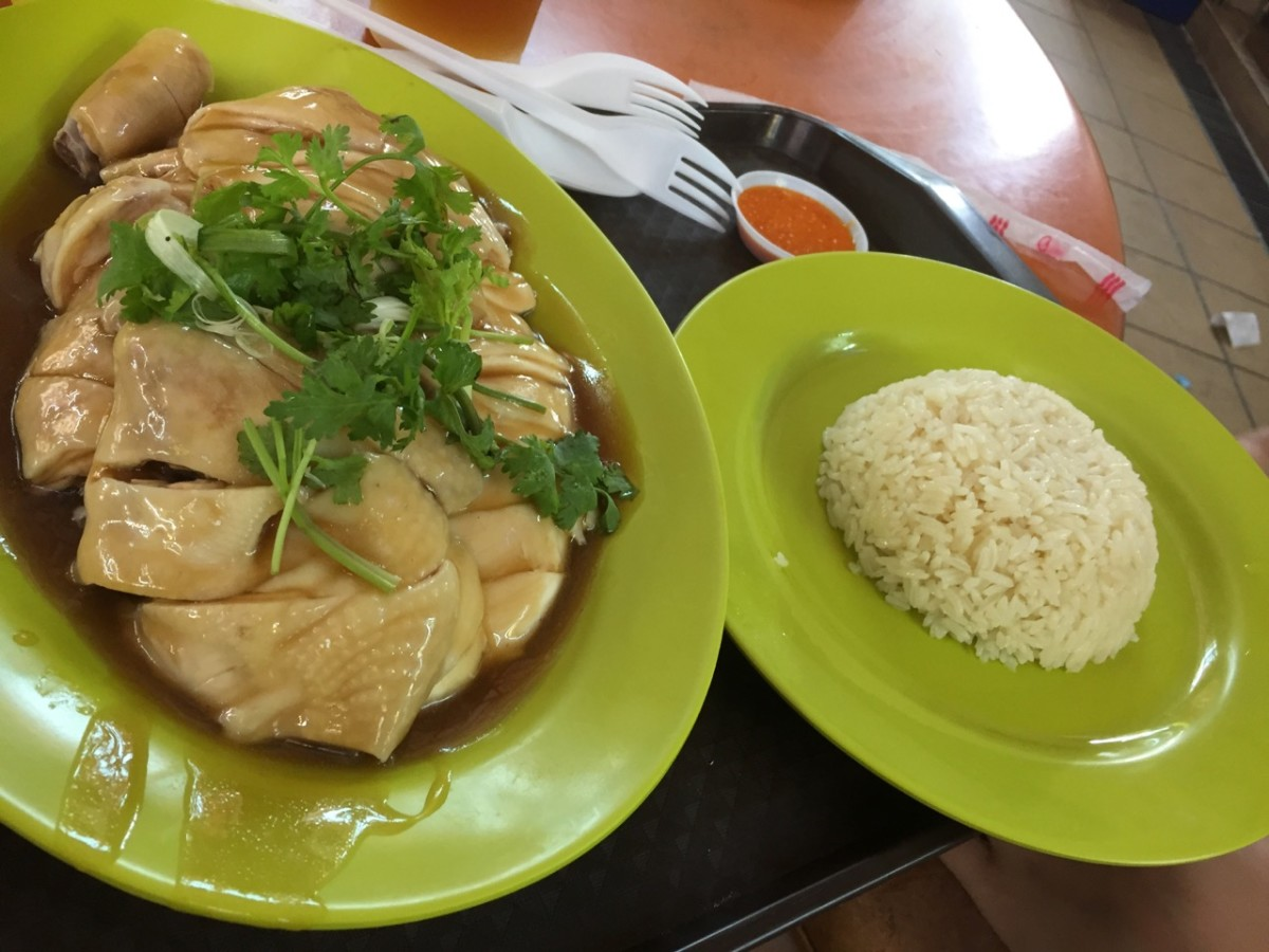 Hainanese Chicken Rice (c) A. Harrison