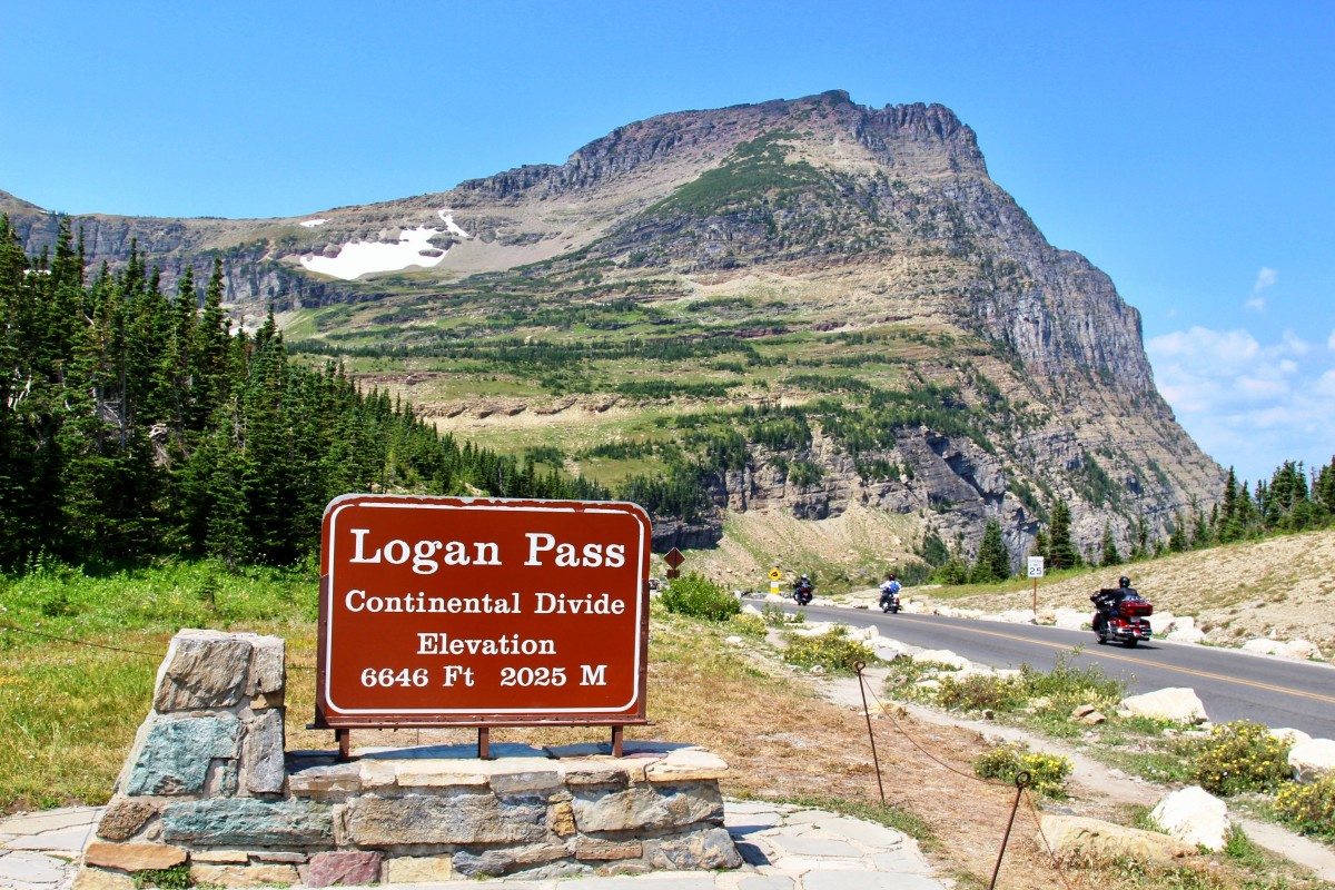 Logan Pass @ Glacier National Park