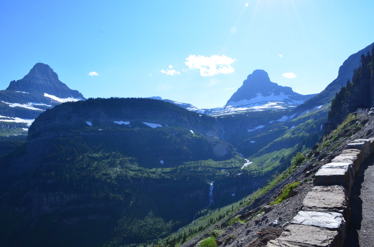 Going-to-the-Sun Road @ Glacier National Park