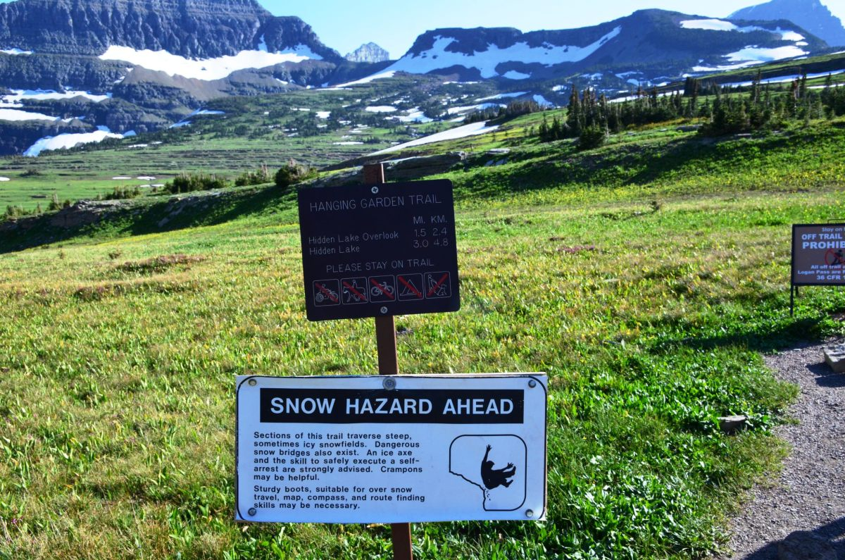 Hike to Hidden Lake @ Glacier National Park