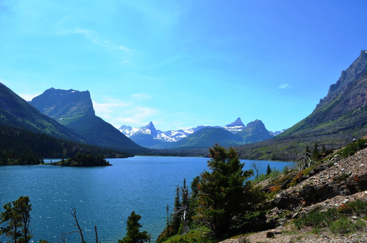 Saint Mary Lake @ Glacier National Park