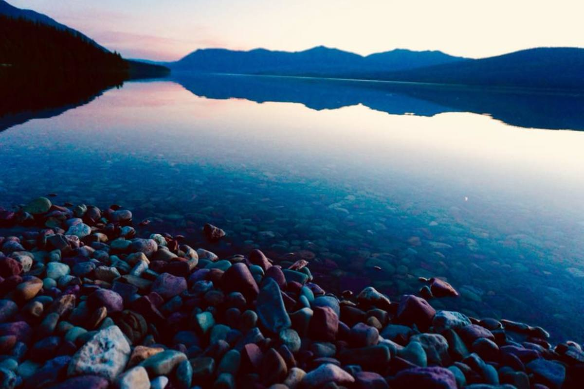 Lake McDonald at Dusk @ Glacier National Park