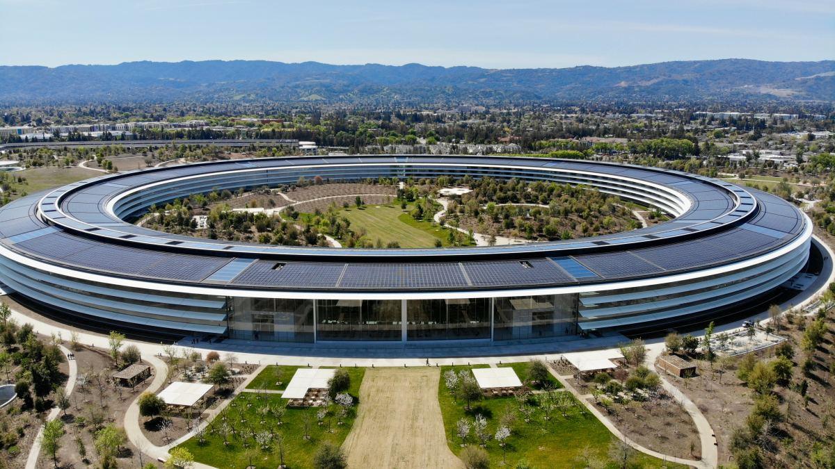 Apple Park, Cupertino, California.