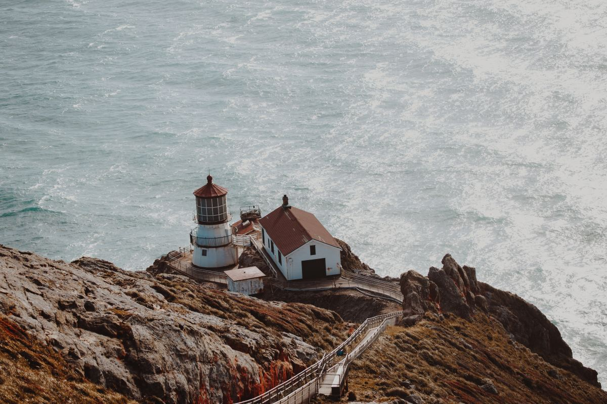 Point Reyes is a quick 1.5 hours outside of the Bay Area.