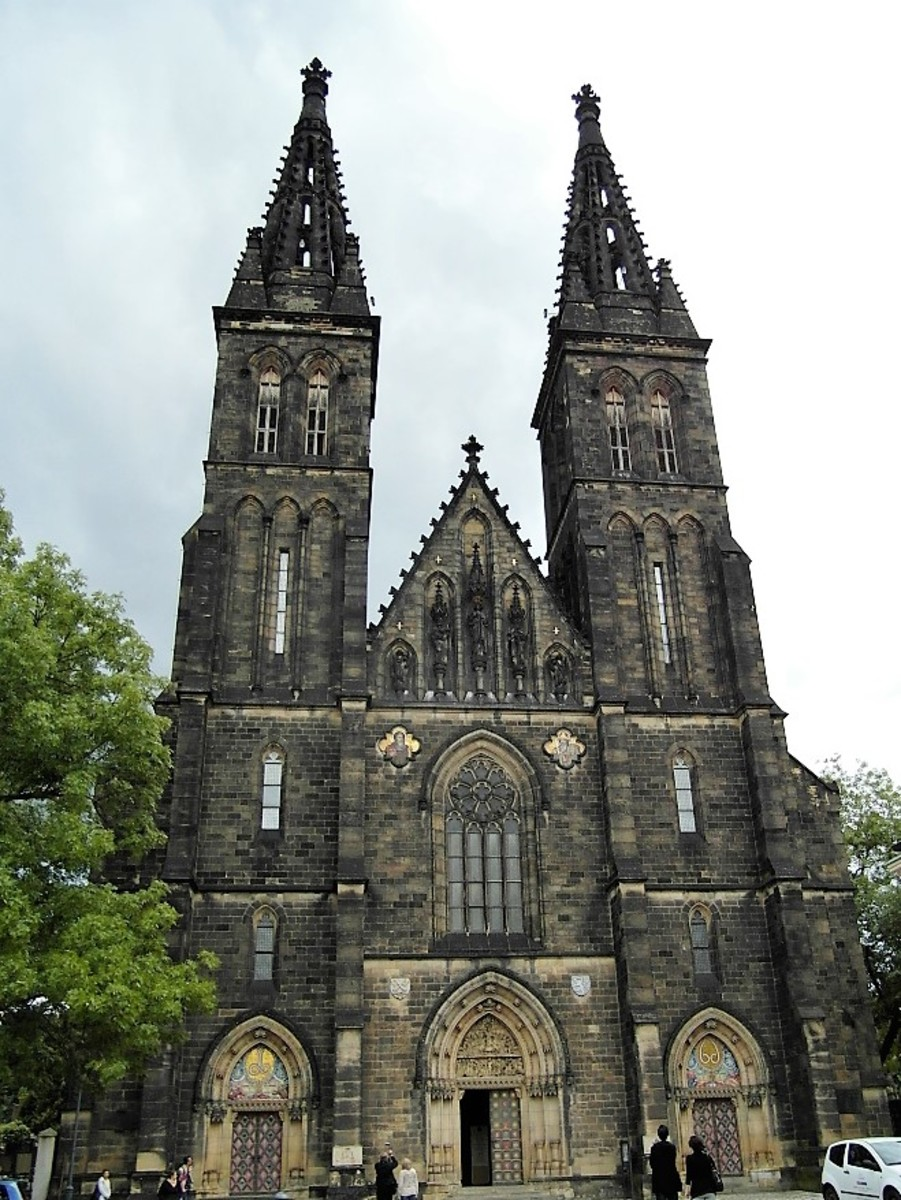 Church of Sv Petr and Pavel, Vysehrad.