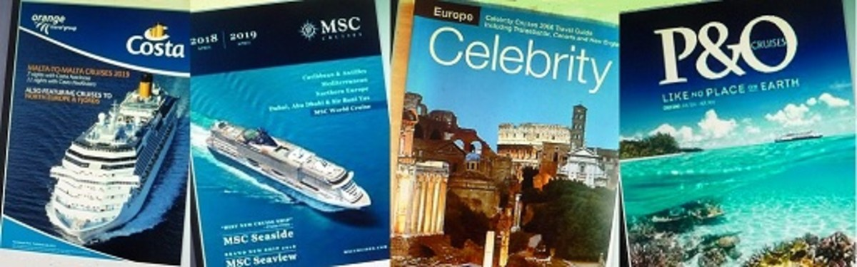 A Few Random Cruise Brochures