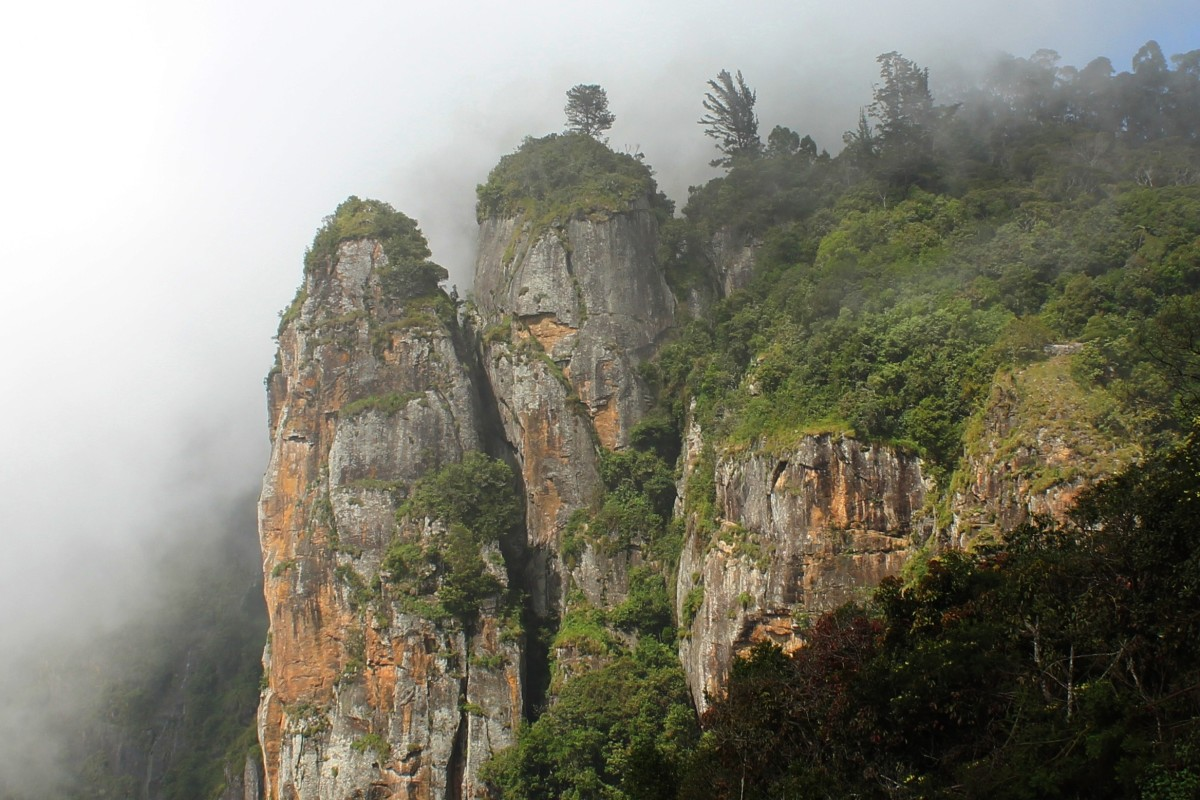 Pillar rocks, Kodaikanal