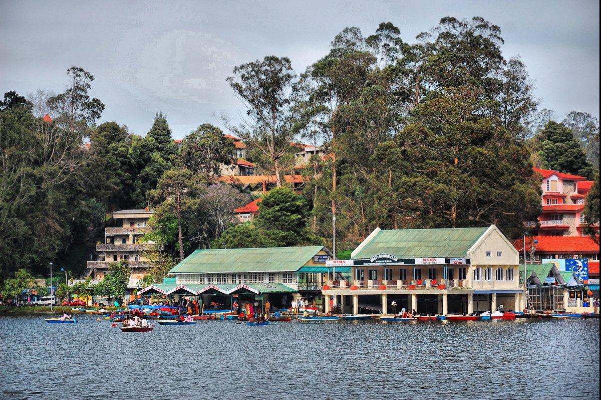 Boathouse in Kodai lake