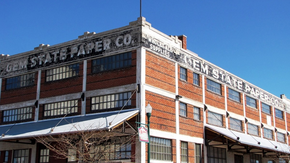Gem State Paper Company - Downtown Twin Falls, Idaho