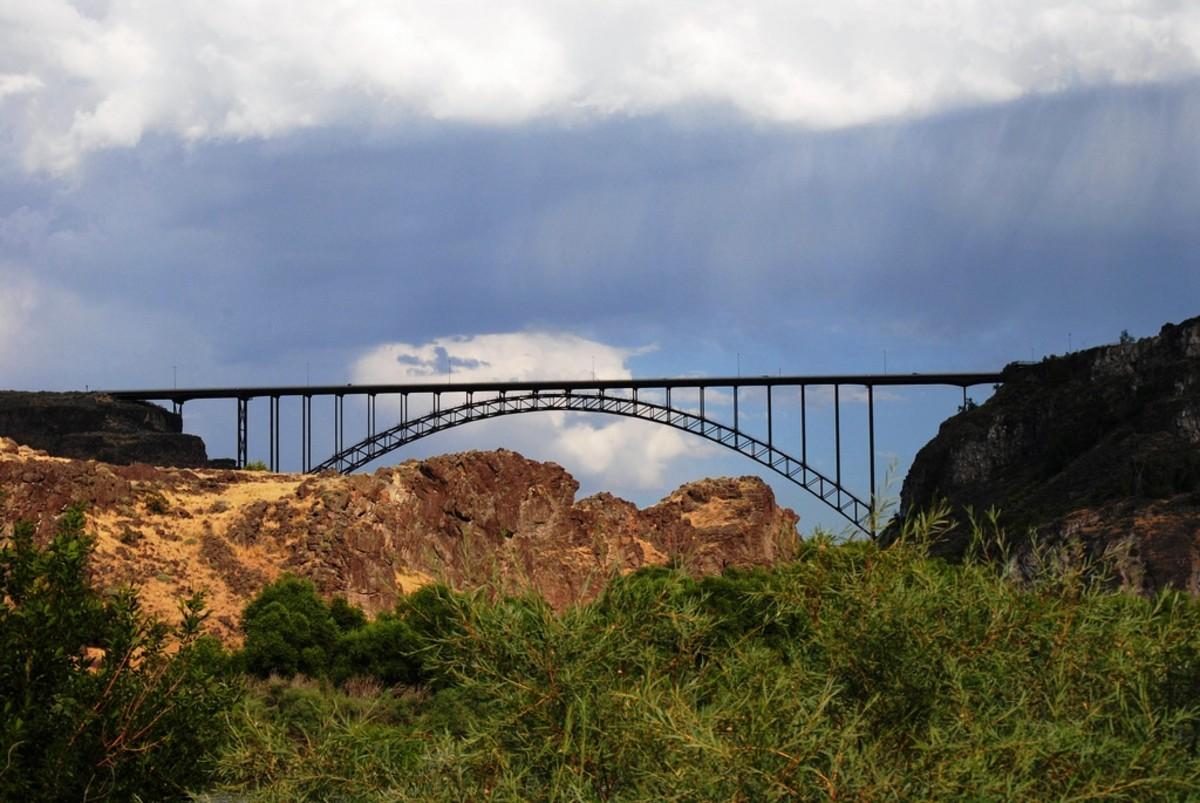 Perrine Bridge over the Snake River - Twin Falls, Idaho