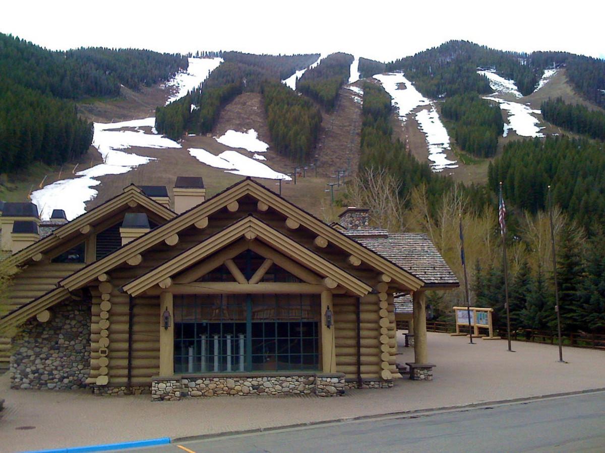 Ski Resort near Sun Valley, Idaho