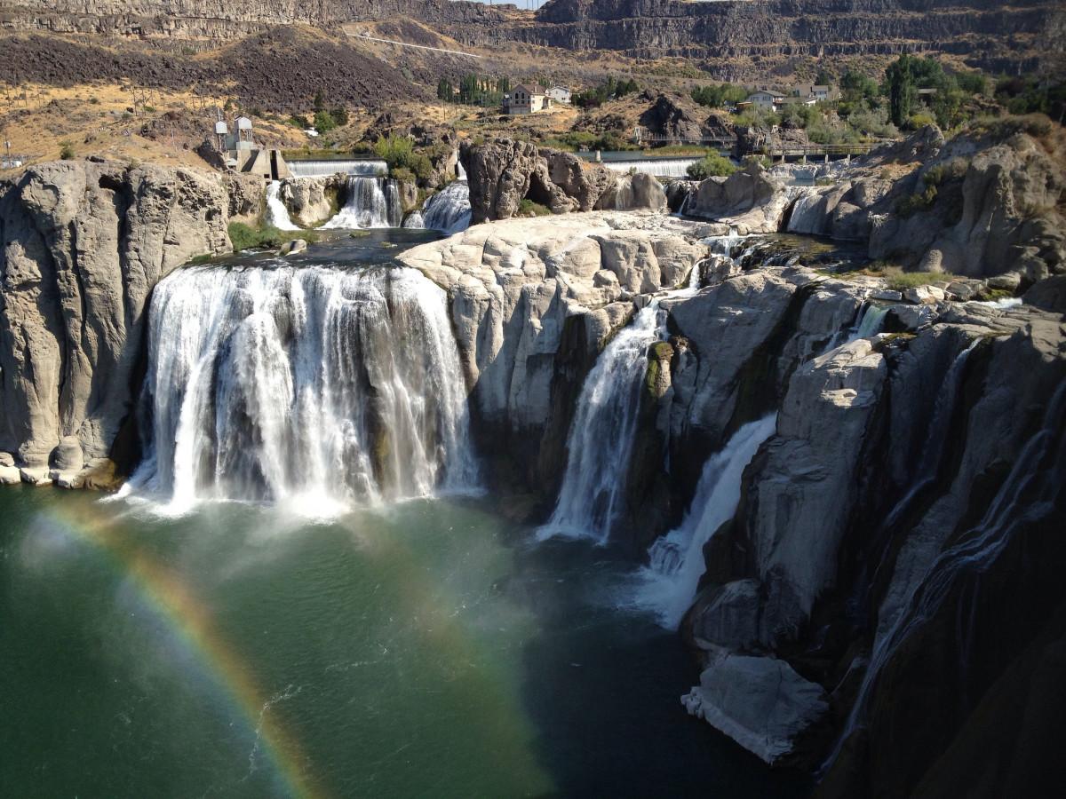 Shoshone Falls at Shoshone Falls State Park in Twin Falls, Idaho