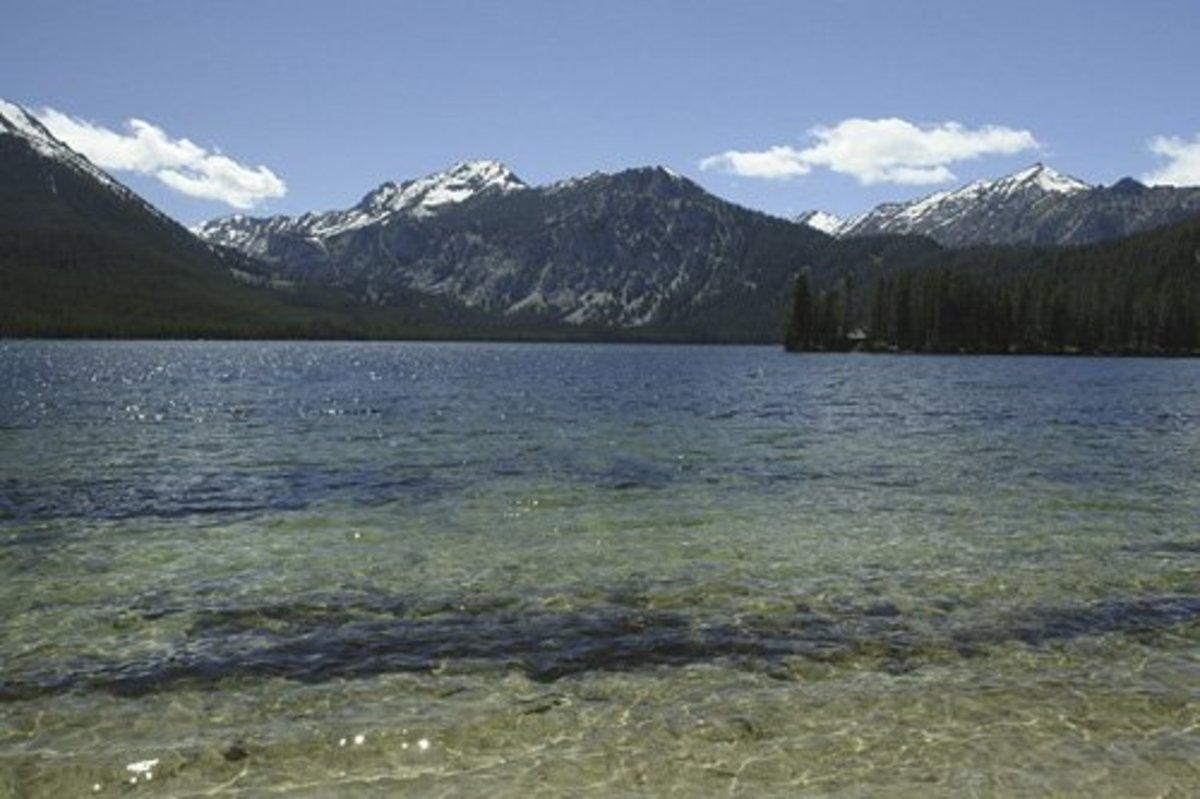 Sawtooth Mountains in Idaho