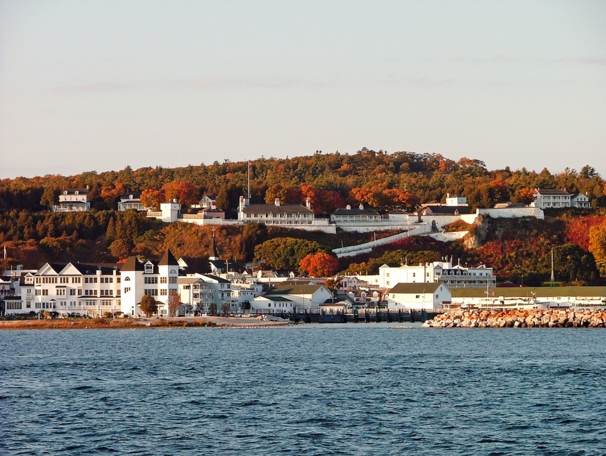Fort Mackinac on Mackinac Island, Michigan