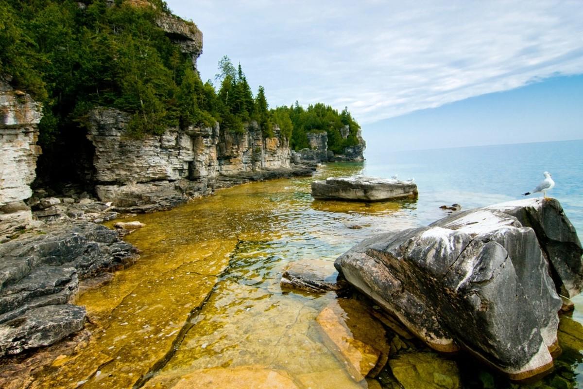 Bruce Peninsula National Park, Ontario, Canada