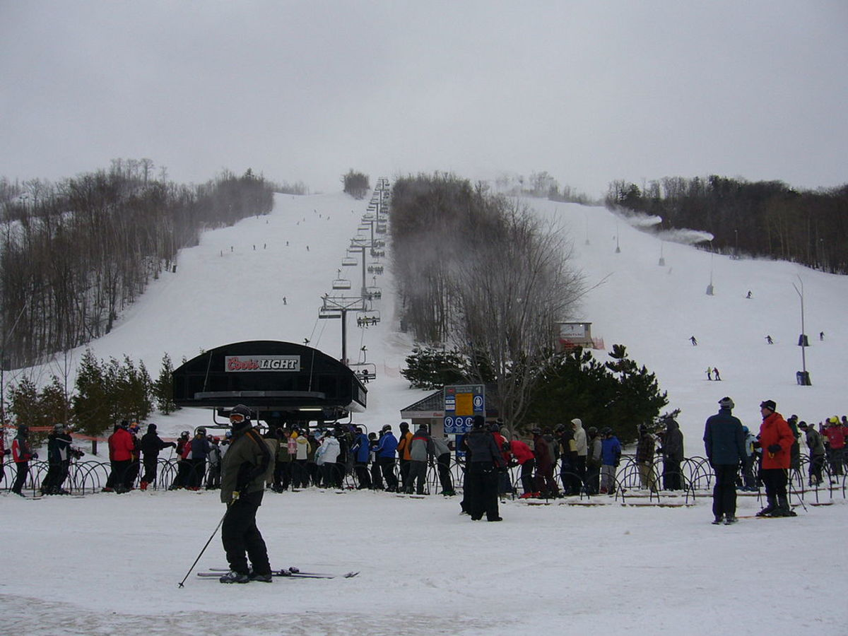 Blue Mountain Resort, Blue Mountains, Ontario, Canada