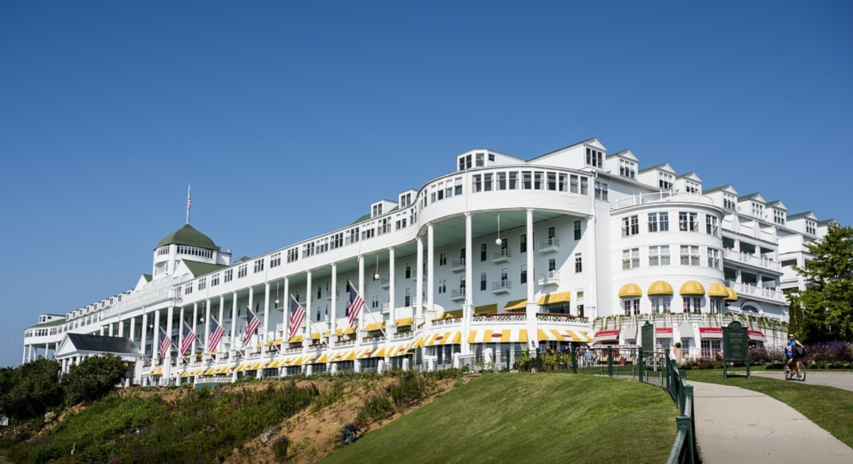 Grand Hotel Mackinac Island, Michigan