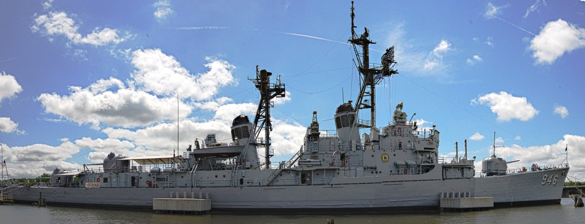 USS Edson at the Saginaw Valley Naval Ship Museum at Bay City, Michigan.