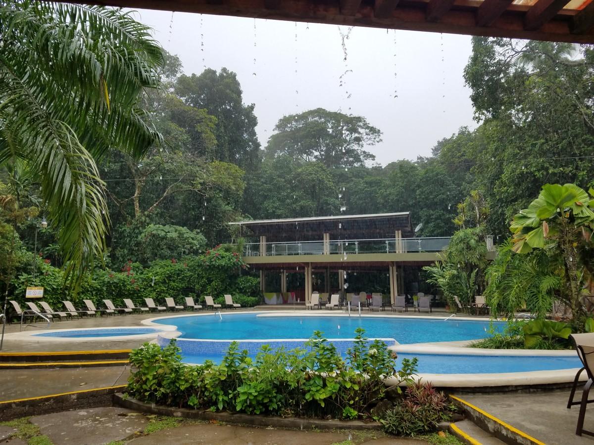 Pool at Pachira Lodge
