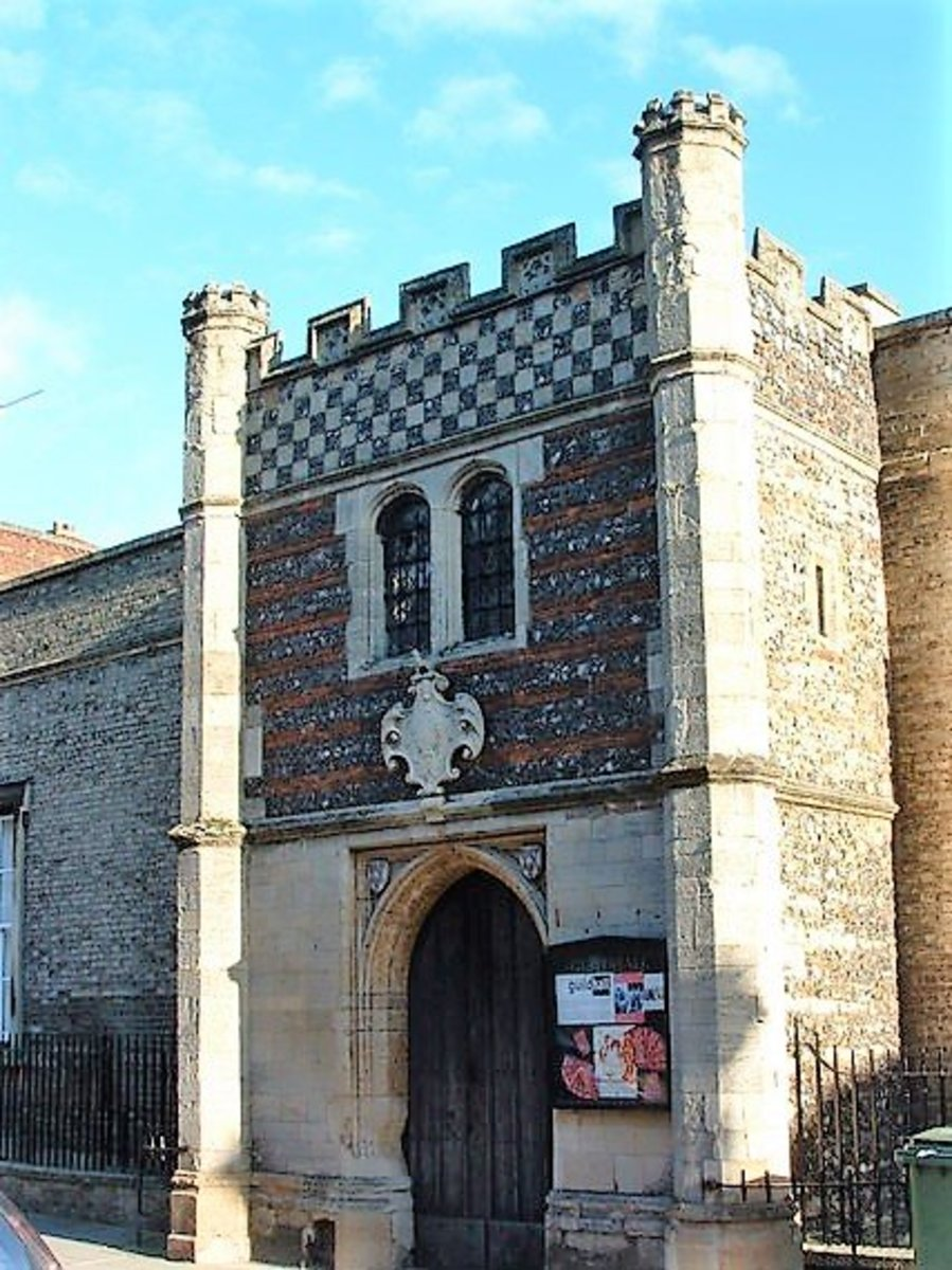 The Guildhall at Bury St Edmunds. An exciting visitor experience and a Tudor sensory garden.