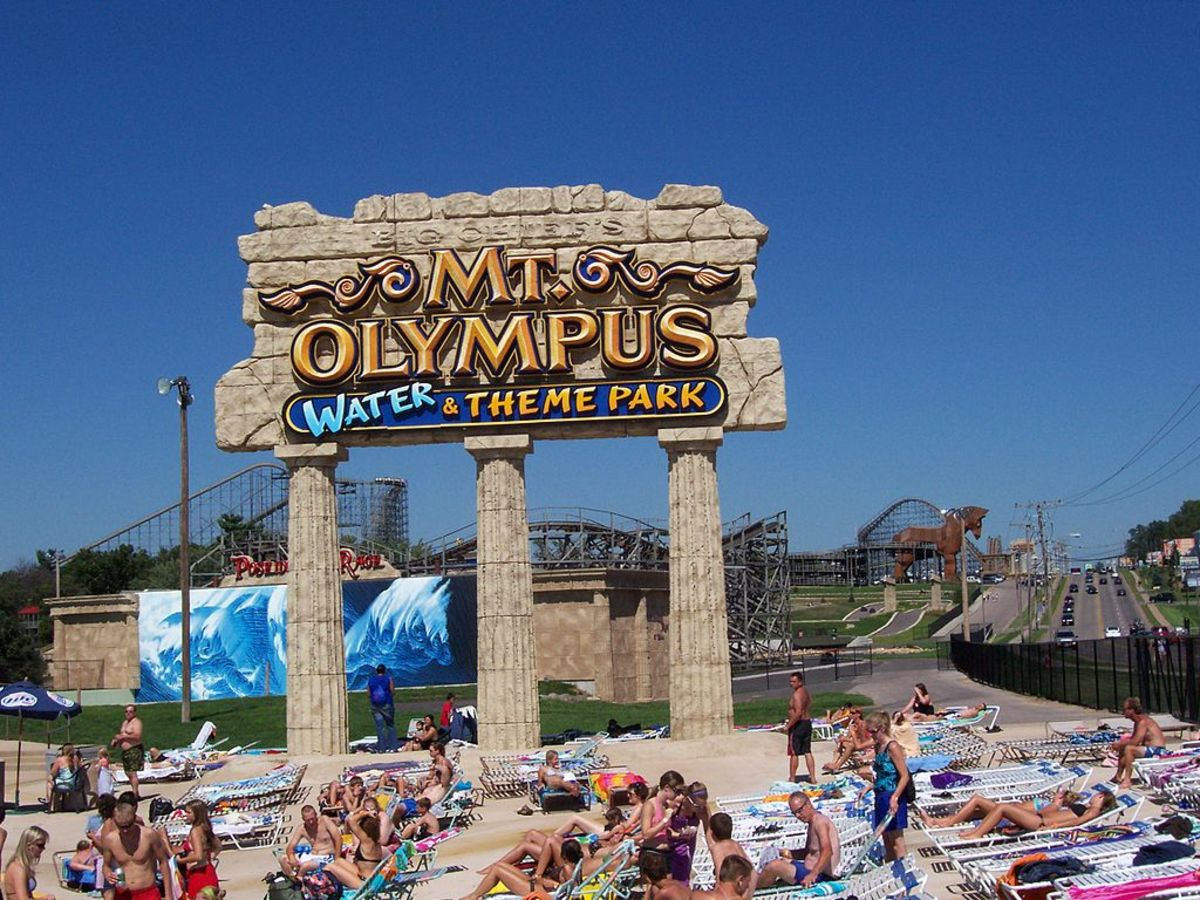 Mt. Olympus Water & Theme Park in Wisconsin Dells, Wisconsin
