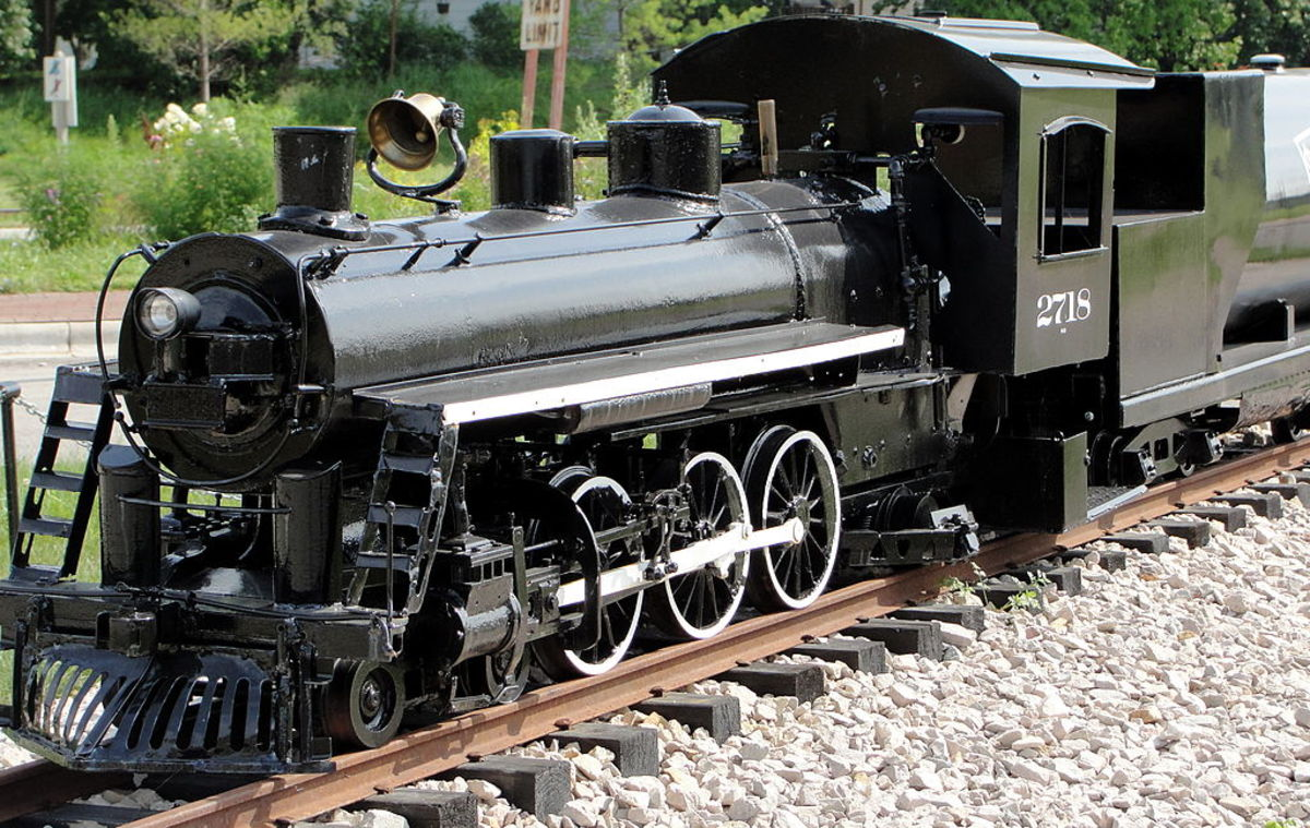 Steam Engine at the National Railroad Museum in Green Bay