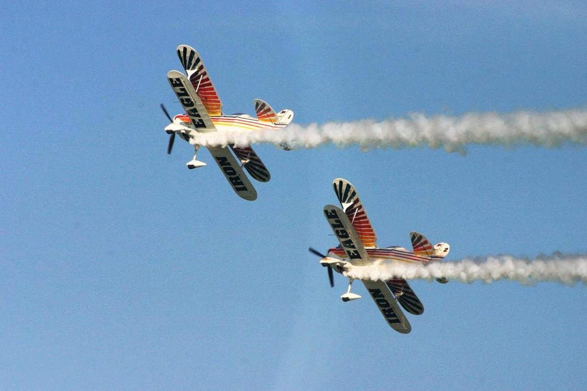 Iron Eagles at EAA's AirVenture in Oshkosh, Wisconsin