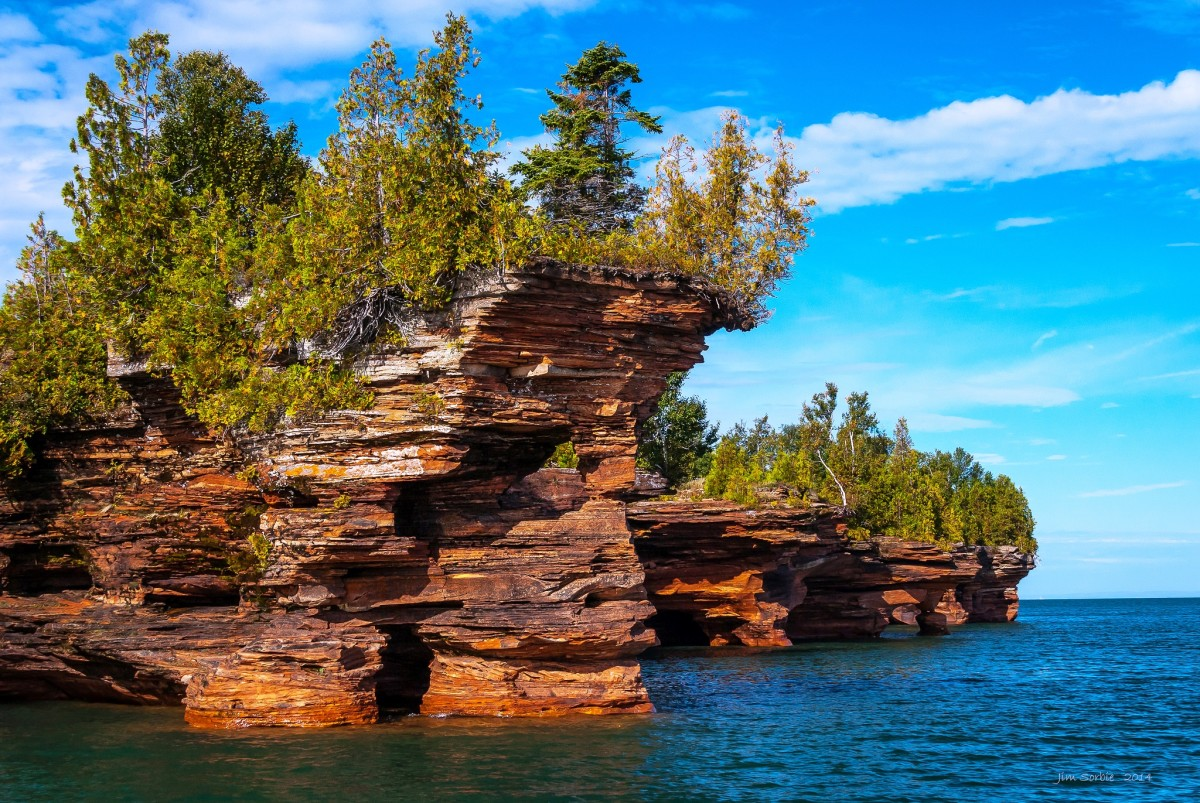 Apostle Islands National Lakeshore.