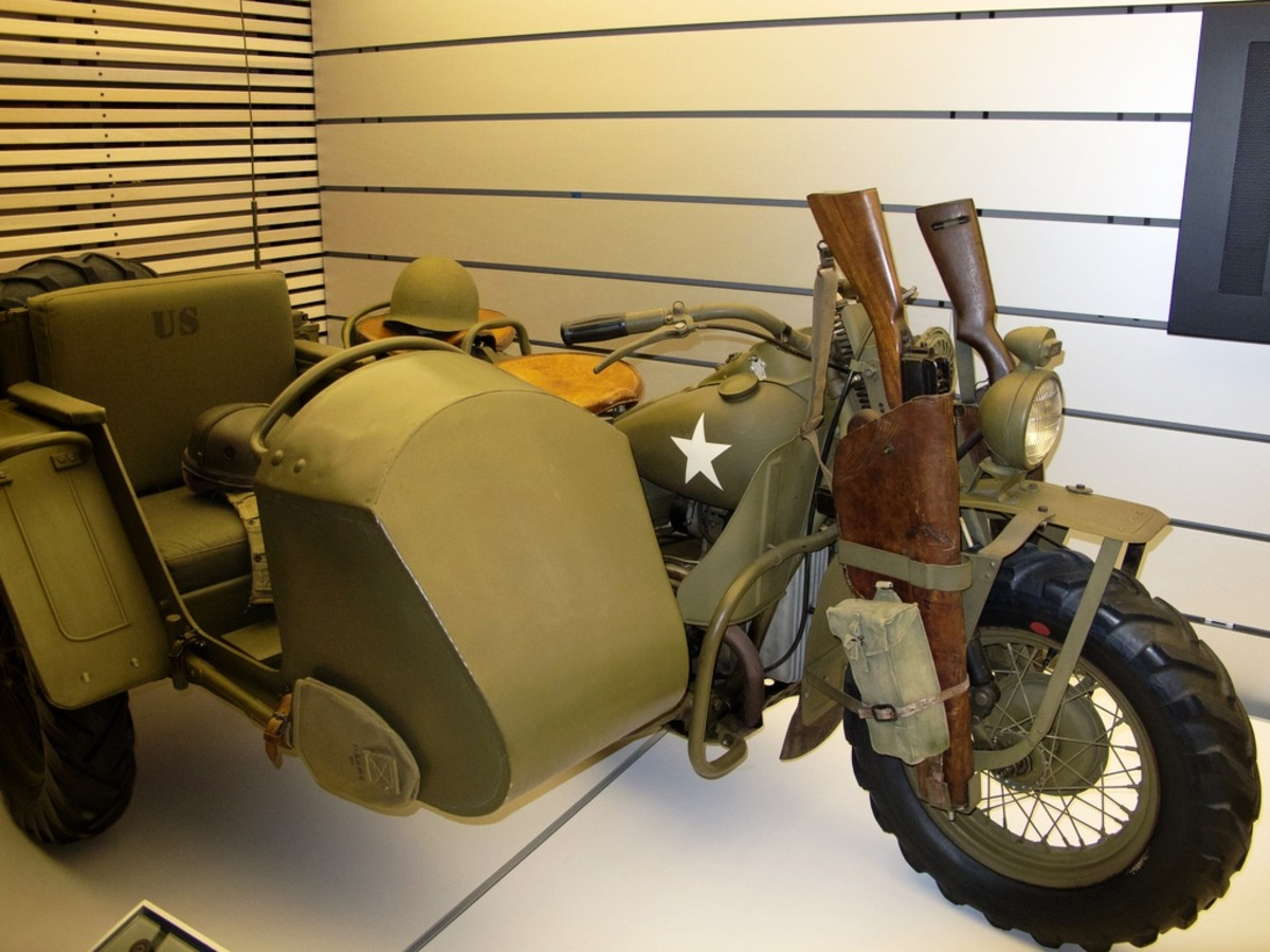 Exhibits at the Harley-Davidson Museum in Milwaukee, Wisconsin