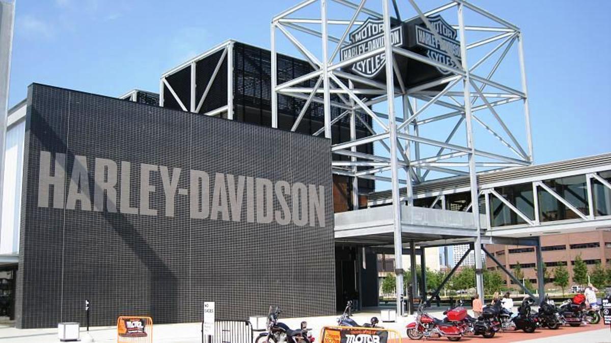 Harley Davidson Museum in Milwaukee, Wisconsin