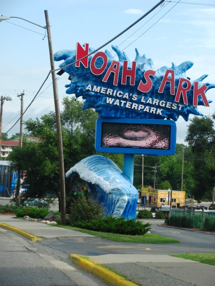 Noah's Arc Waterpark in Wisconsin Dells, Wisconsin.