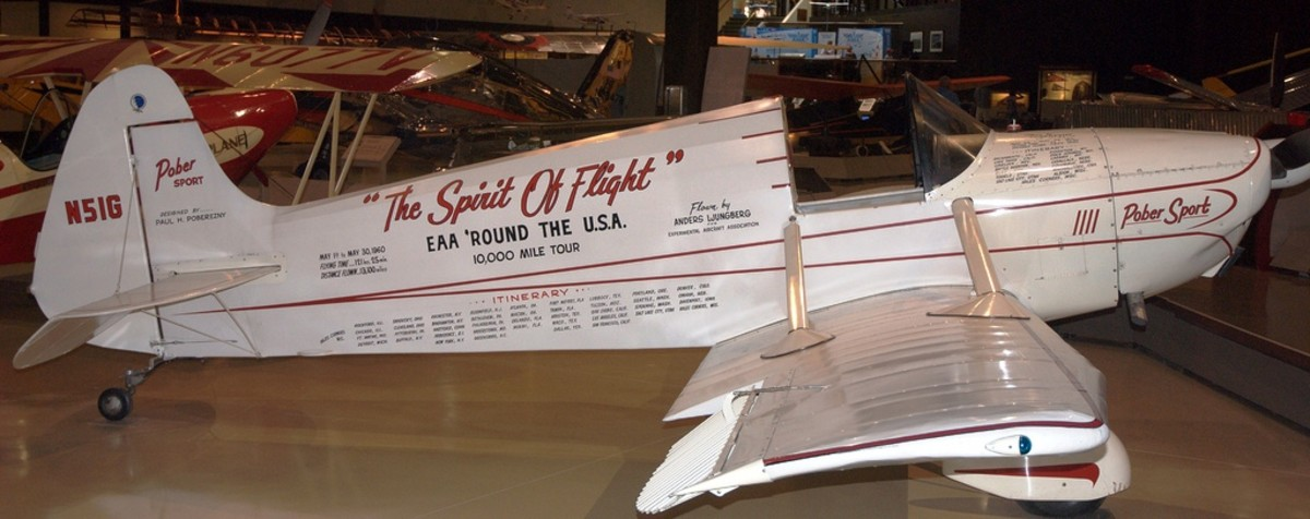 """The Spirit of Flight"" at the EAA Museum in Oshkosh, Wisconsin"